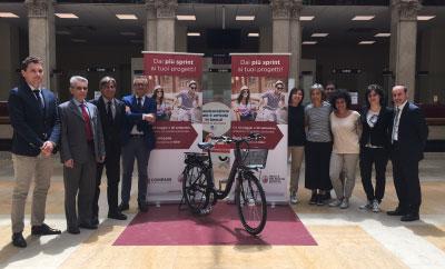 Concorso bici elettriche Banca MPS Compass Mantova 2016