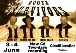 The Boots Survivors New CD - Ciccibluesbar Viadana