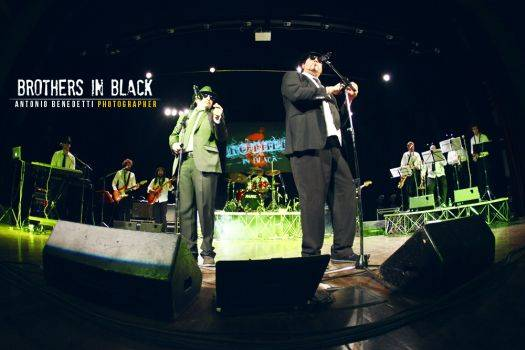 Brothers in Black - tributo ai Blues Brothers