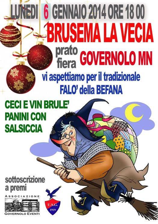 Brusema la Vecia 2014 Governolo (Mantova)