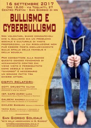 Tavola Rotonda su Bullismo e Cyberbullismo a San Giorgio di Mantova 16/9/2017