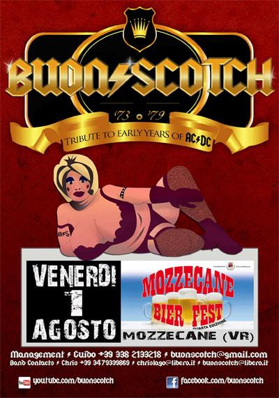 Buon Scotch concerto Mozzecane Bier Fest
