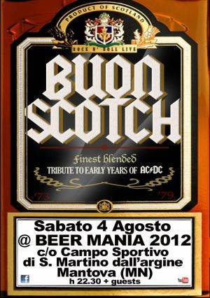 Buon Scotch Bier Mania 2012 San Martino dell'Argine (Mantova)