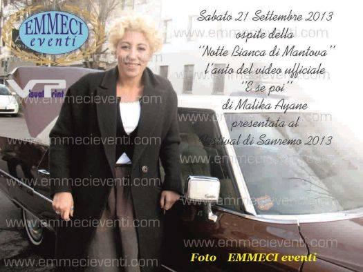 Cadillac Fleetwood Brougham Mantova Vive Notte Bianca