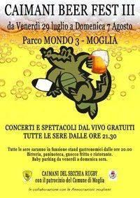 Caimani Beer Fest 2011 Moglia (MN)