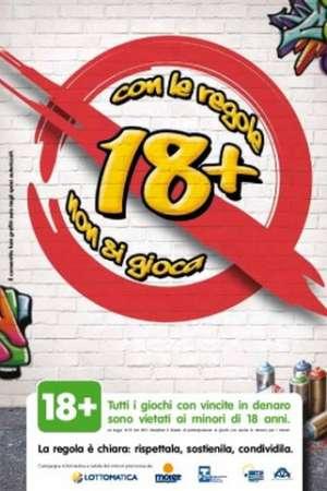 18+ prevenzione gioco minorile Mantova
