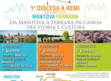 Canoa Prima Discesa a Remi da Mantova a Ferrara 2017