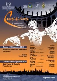 Canti di Corte a Rivarolo e Bozzolo 12-13 Giugno 2010