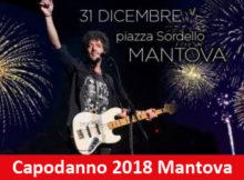 Capodanno 2018 Mantova concerto Max Gazzè