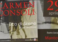 Concerto Carmen Consoli Mantova 2017 Eco di Sirene tour