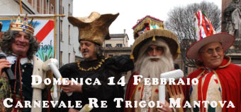 Carnevale 2016 Mantova Re Trigol