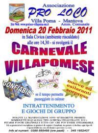 Carnevale Villapomese 2011, Villa Poma (Mantova)