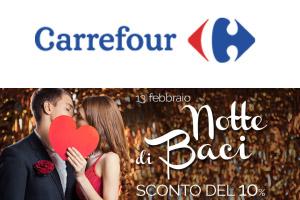 Carrefour Mantova Notte Di Baci Scontati San Valentino 2016