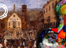 Una cartolina spedita da Palazzo Ducale Mantova 2017