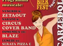 Festa della Birra Carzedol 2016 Villa Garibaldi di Roncoferraro MN