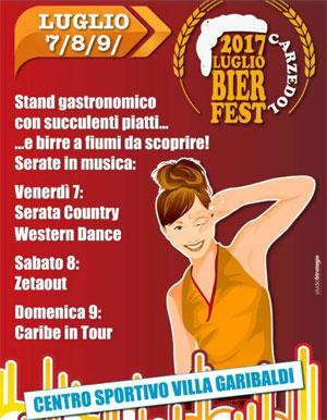 Carzedol Bier Fest 2017 Villa Garibaldi di Roncoferraro (Mantova)