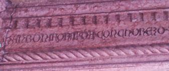 Mantova Casa del Mercante incisione proprietario
