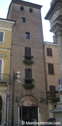 Mantova Casa Torre dei Boateri