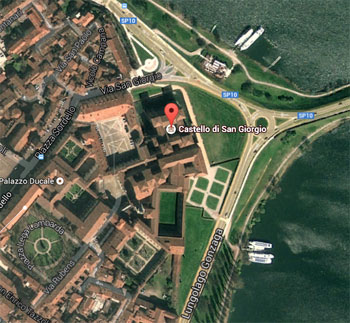 Indirizzo Castello di San Giorgio Mantova