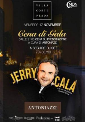 Cena di Gala con Jerry Calà Villa Corte Peron Marmirolo Mantova