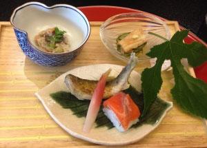 Cena con piatti cucina giapponese Mantova