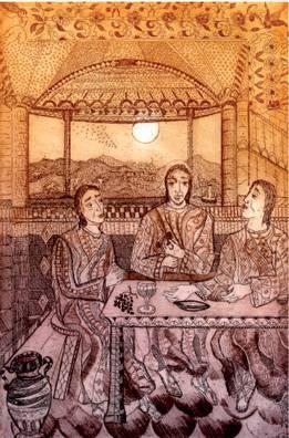 Cena in Emmaus di Angiola Bernardelli