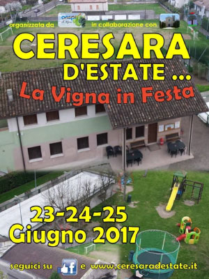 Ceresara d'estate La vigna in festa 2017