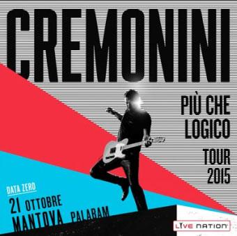 Concerto Cesare Cremonini Mantova 2015