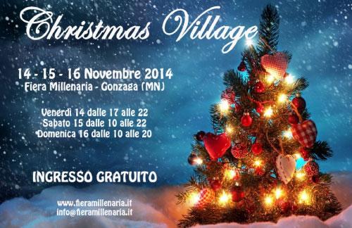 Christmas Village 2014 Fiera di Gonzaga (Mantova)