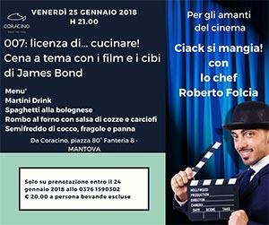 Ciack si mangia Roberto Folcia Mantova 2018