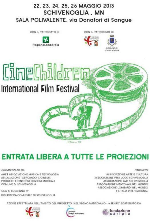 Cine Children International Film Festival 2013 Schivenoglia (Mantova)