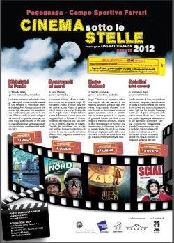Cinema Sotto le Stelle 2012 Pegognaga (Mantova)