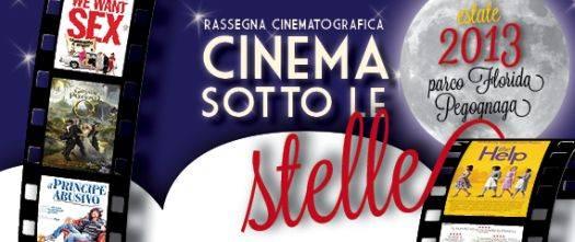 Cinema sotto le stelle 2013 Pegognaga (Mantova)