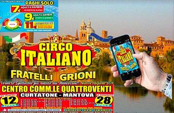 Circo Grioni Curtatone (Mantova) 2019