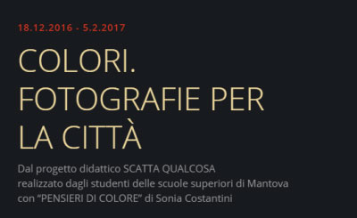 Colori fotografie per la città Mantova 2016 2017