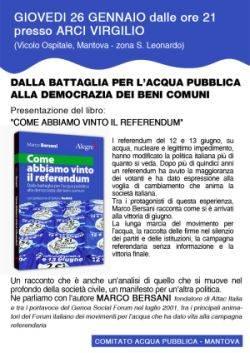 Libro Come abbiamo vinto il referendum di Marco Bersani