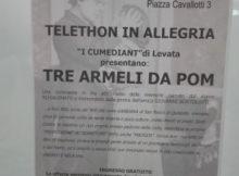 Commedia dialettale Telethon Mantova 2017
