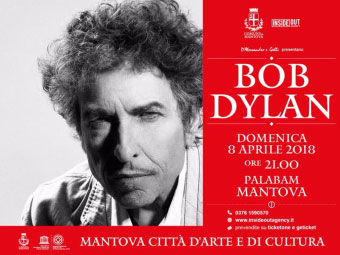 Concerto Bob Dylan Mantova 2018