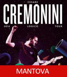 Cesare Cremonini Mantova 2014 Logico Tour