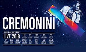 Concerto Cesare Cremonini Mantova Palabam 4 11 2018  Biglietti 420877bbb39