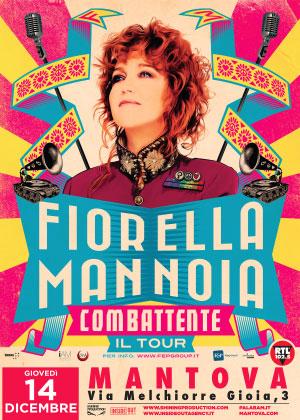 Concerto Fiorella Mannoia Mantova 2017