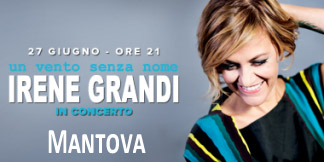 Concerto Irene Grandi Mantova Outlet 2015