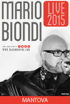 Tour Mario Biondi Mantova 2015