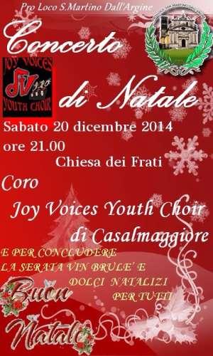 Concerto Natale 2014 San Martino dell'Argine (Mantova)
