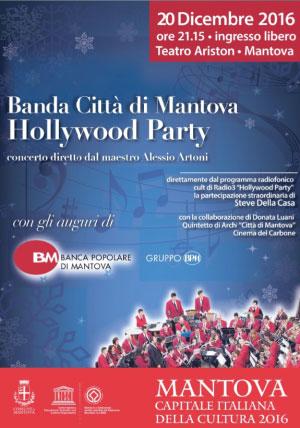 Concerto Natale 2016 Banda Città di Mantova