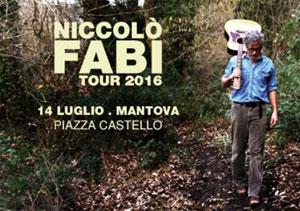 Concerto Niccolò Fabi Mantova 2016