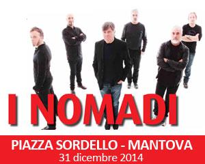 Concerto Nomadi Mantova capodanno 2015