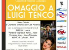 Concerto omaggio a Luigi Tenco Volta Mantovana (MN) 2017