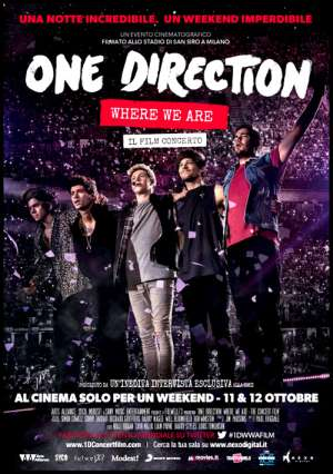 Concerto One Direction Mantova 2014 Cinema