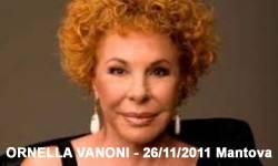Concerto Ornella Vanoni Mantova 2011